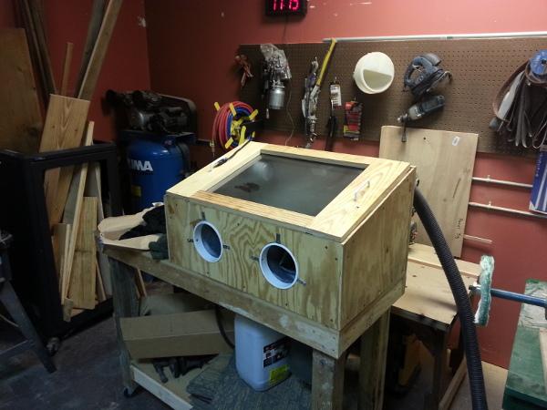 mm sandblasting cabinet midsouth makers memphis area makerspace. Black Bedroom Furniture Sets. Home Design Ideas
